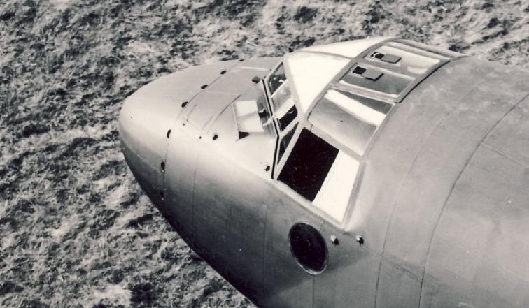 Fw200_Cockpit_von_oben