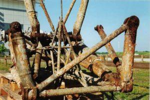 Die Überreste vom Hauptfahrwerk, 1999